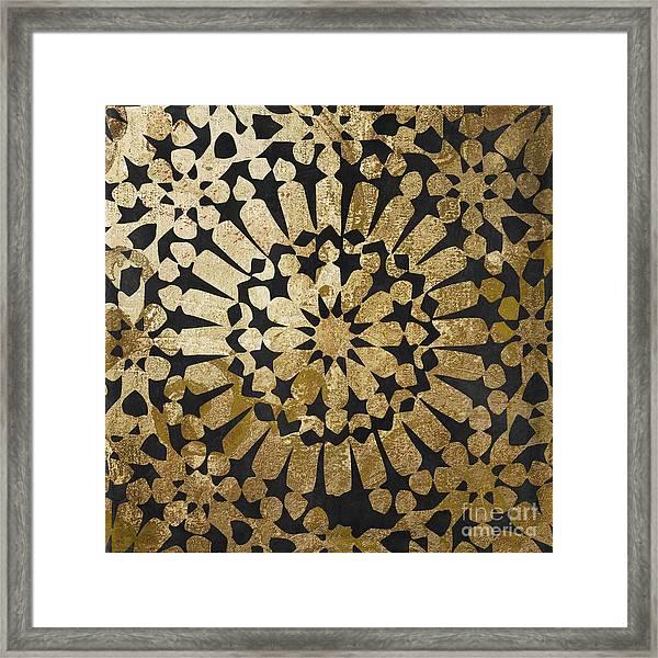 Moroccan Gold Iv Framed Print