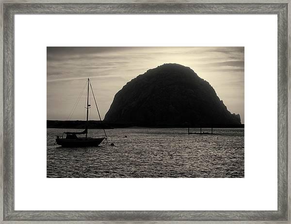 Morro Bay I Toned Framed Print