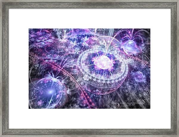 Mortis #art #abstract #fractal Framed Print by Michal Dunaj