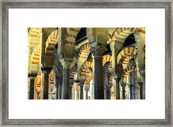 Mosque Cathedral Of Cordoba 2 Framed Print