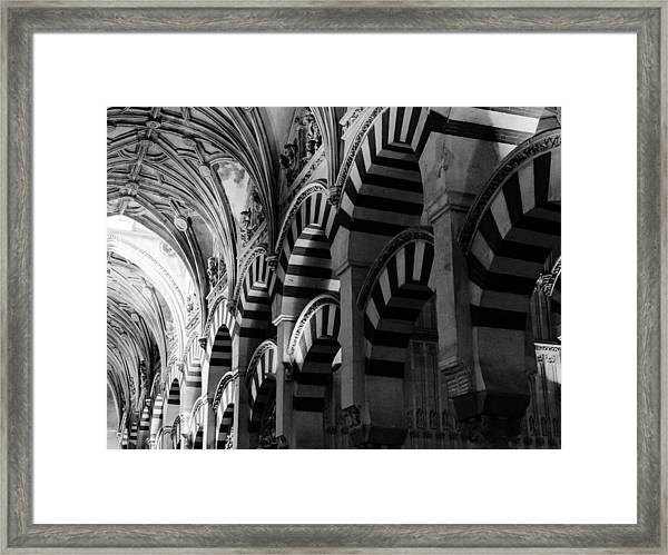 Mosque Cathedral Of Cordoba 6 Framed Print