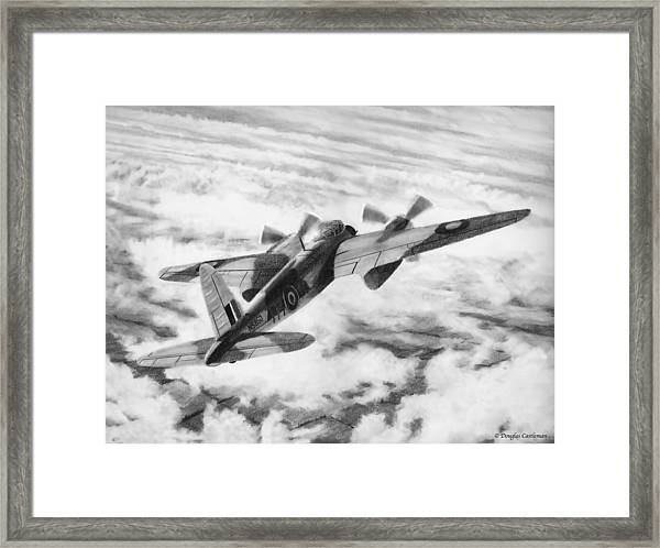 Mosquito Fighter Bomber Framed Print
