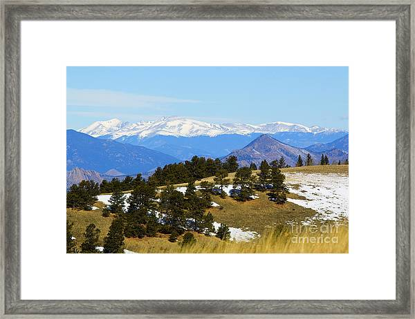Mosquito Range Mountains Framed Print