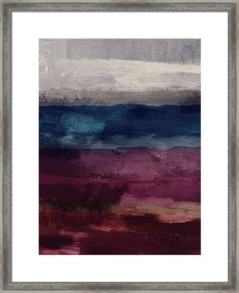 Most Of All- Abstract Art By Linda Woods Framed Print