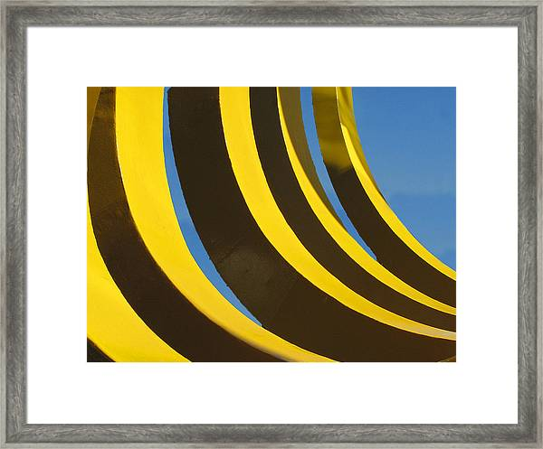 Mostly Parabolic Framed Print
