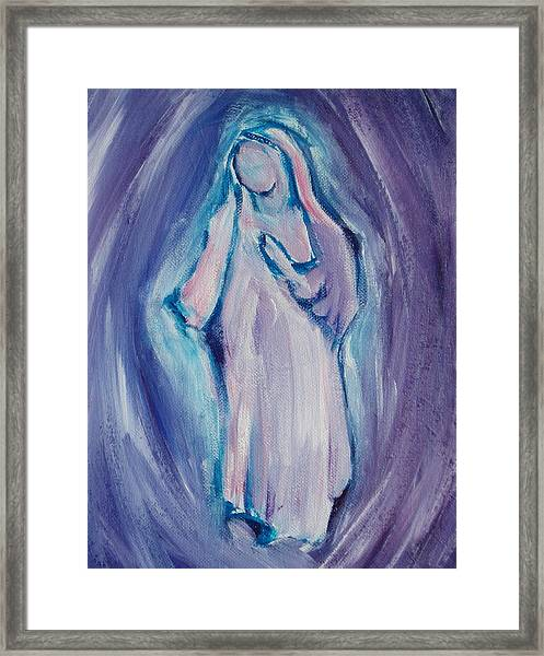 Mother Mary Essence Framed Print