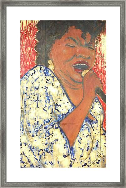 Mother Nature Koko Taylor Framed Print