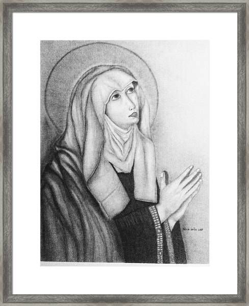 Mother Of Sorrows Version1 Framed Print