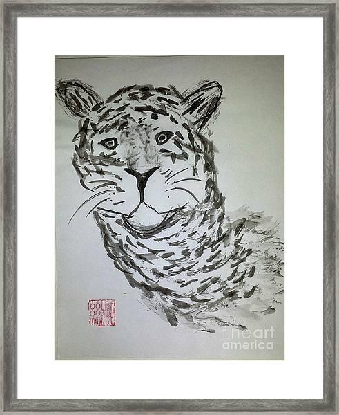 Mother Sister Jaguar Framed Print