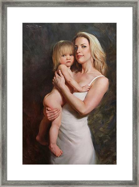 Motherhood Framed Print