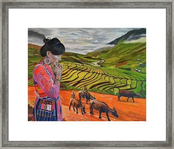 Mother's Land Framed Print