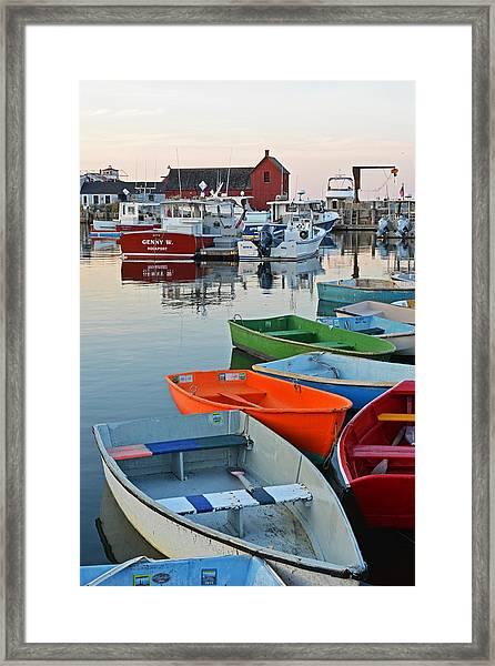 Motif #1 Rockport Ma Framed Print