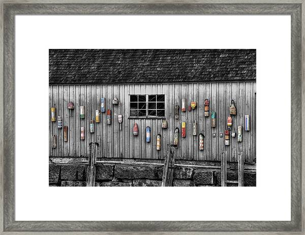 Motif No 1 - Fish Shack Framed Print