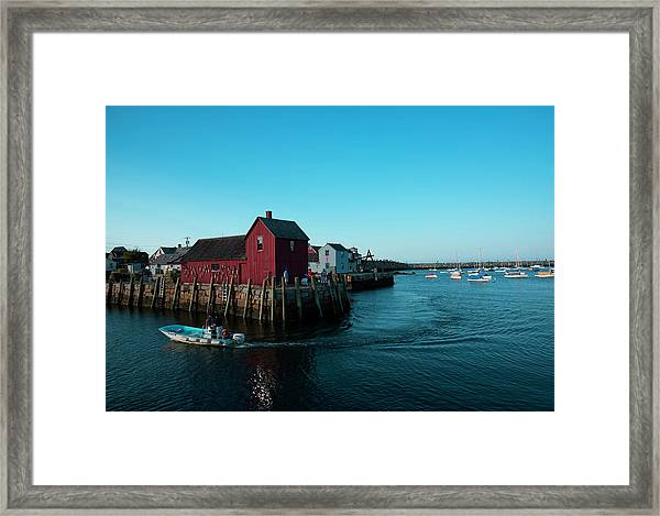 Motif Number 1 Closeup Framed Print