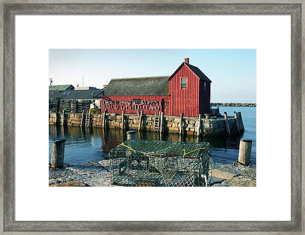 Motif Number One II Rockport Massachusetts Framed Print