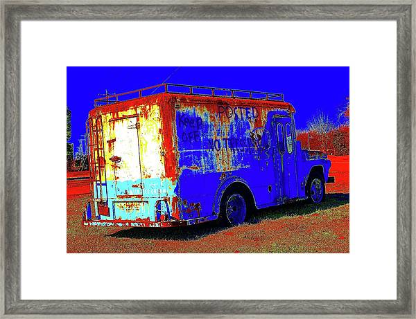 Motor City Pop #13 Framed Print