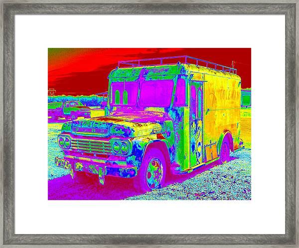 Motor City Pop #14 Framed Print