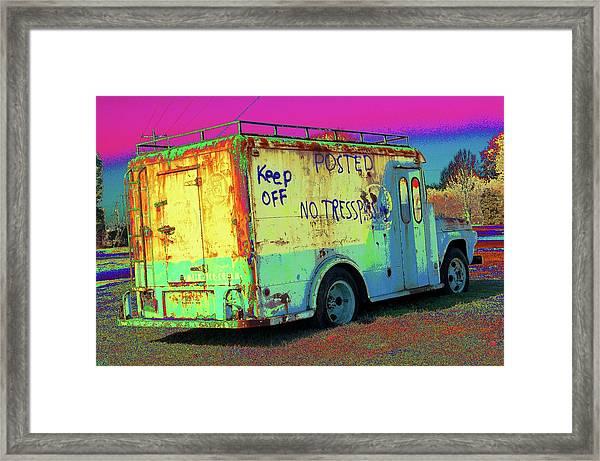 Motor City Pop #18 Framed Print