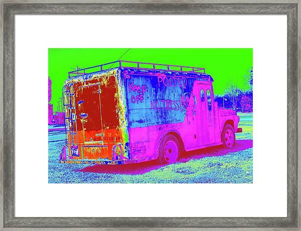 Motor City Pop #20 Framed Print