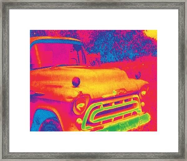 Motor City Pop #6 Framed Print