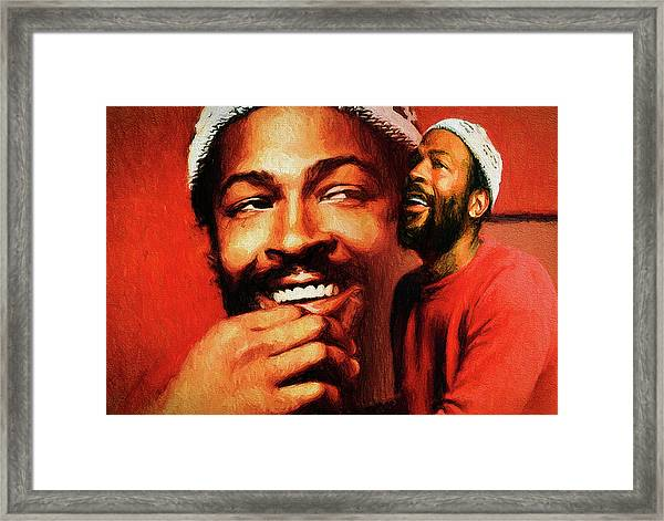 Motown Genius Framed Print
