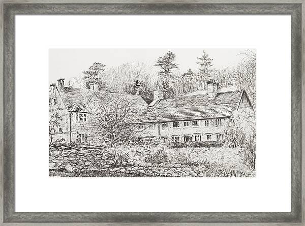 Mottistone Hall  Isle Of Wight Framed Print