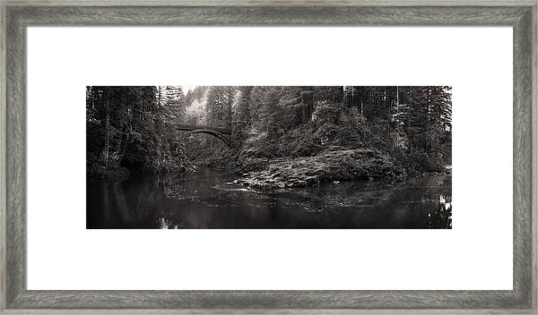 Moulton Bridge Framed Print