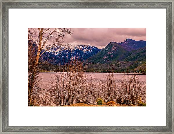 Mount Baldy From Point Park Framed Print