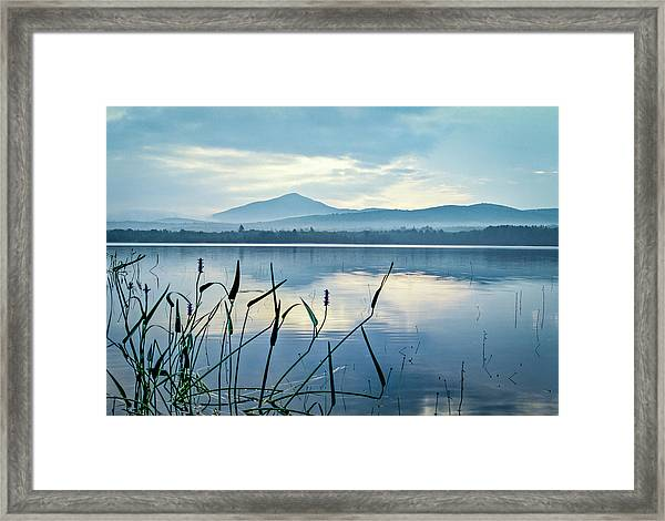 Mount Blue Framed Print