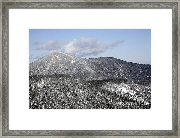 Mount Carrigain - White Mountains New Hampshire Usa Framed Print