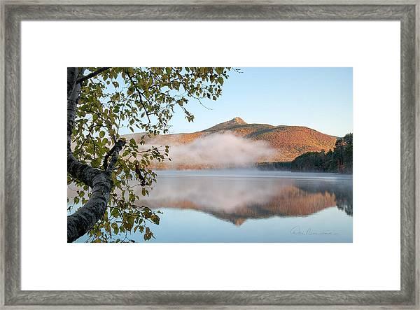 Mount Chocorua In Fog 0398 Framed Print
