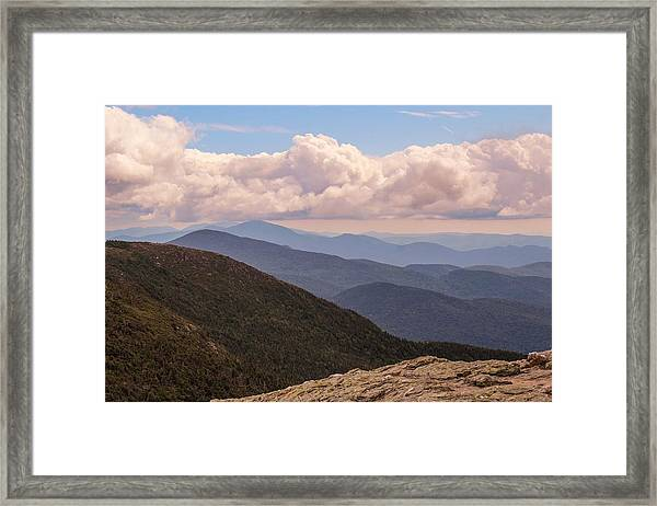 Mount Mansfield Vermont Framed Print