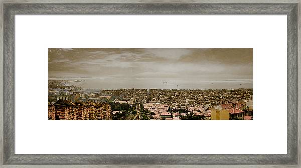 Thessaloniki, Greece - Mount Olympus Framed Print