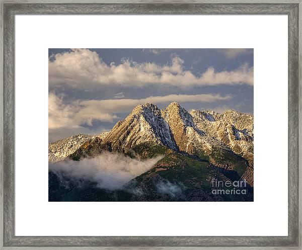 Mount Olympus Framed Print