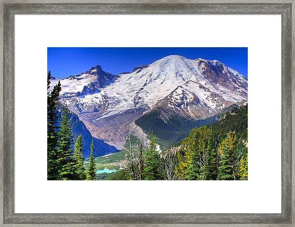 Mount Rainier IIi Framed Print
