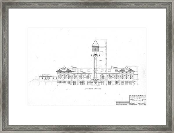 Mount Royal Station Framed Print