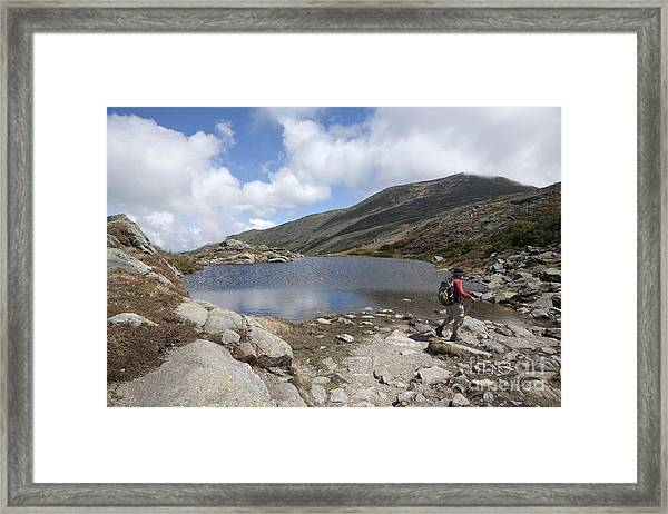 Mount Washington - New Hampshire Usa Lakes Of The Clouds Framed Print