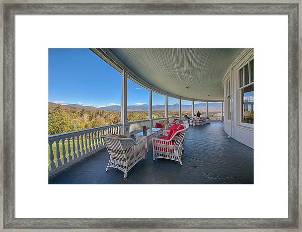 Mount Washinton Hotel 6004 Framed Print