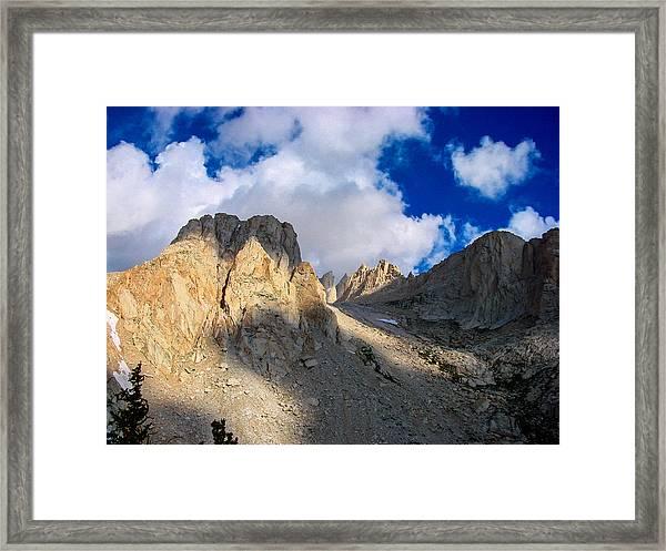Mount Whitney Trail Framed Print