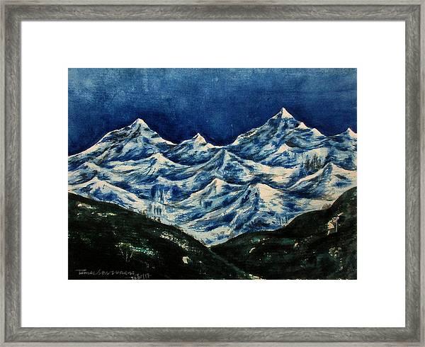 Mountain-2 Framed Print