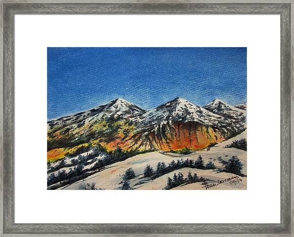 Mountain-5 Framed Print