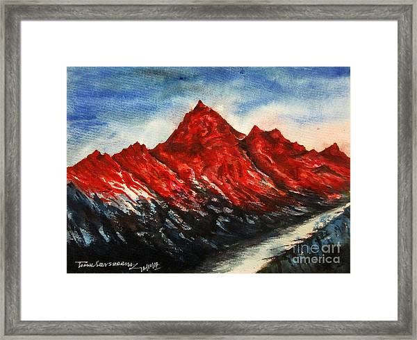 Mountain-7 Framed Print
