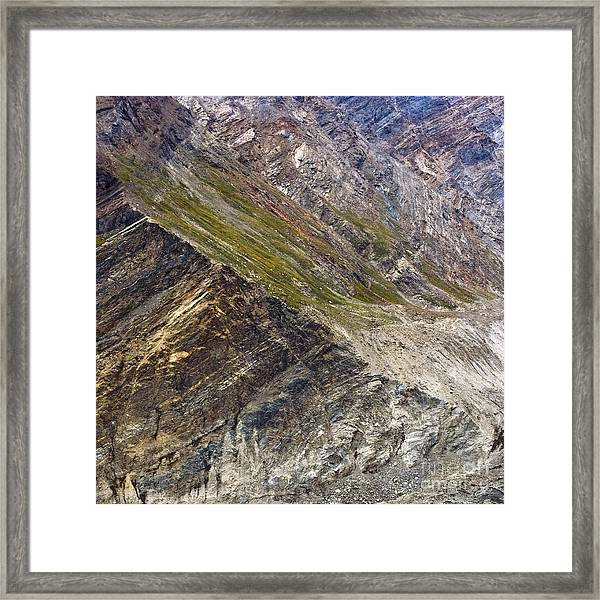 Mountain Abstract 1 Framed Print