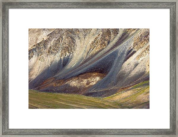 Mountain Abstract 2 Framed Print