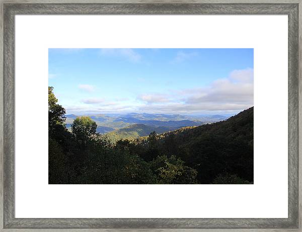 Mountain Landscape 1 Framed Print