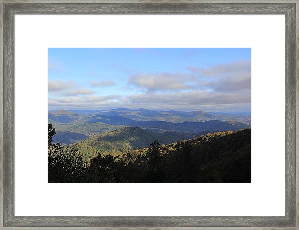 Mountain Landscape 2 Framed Print