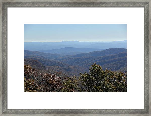Mountain Landscape 4 Framed Print