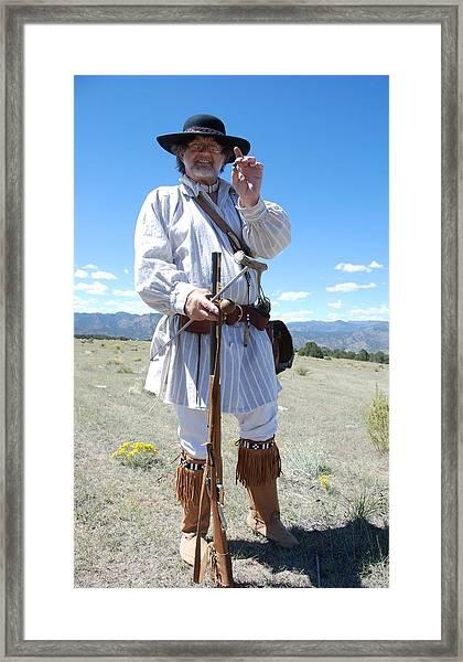 Mountain Man  Framed Print