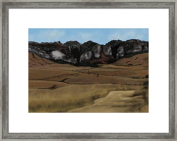 Mountain Plains Framed Print