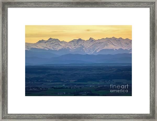 Mountain Scenery 15 Framed Print